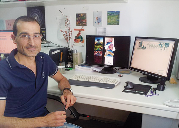 MANUEL FERRER. Investigador del Instituto de Catálisis (CSIC). Especialista en flora intestinal
