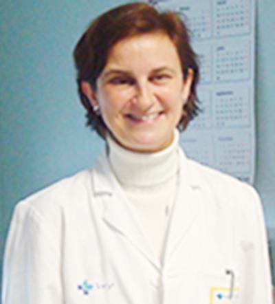 Dra. Elena Filipovich, Médico adjunto en la Unidad de Oncología del Complejo Asistencial de Ávila.