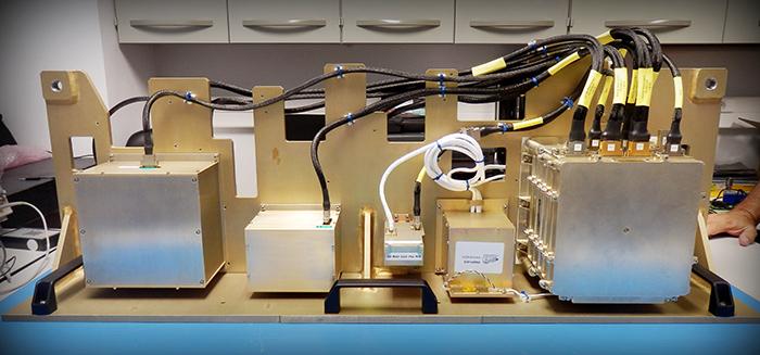 Modelo funcional eléctrico del instrumento SO/ PHI. (Cortesía del IAA-CSIC).