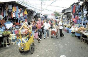 Mercado Oriental de Managua.