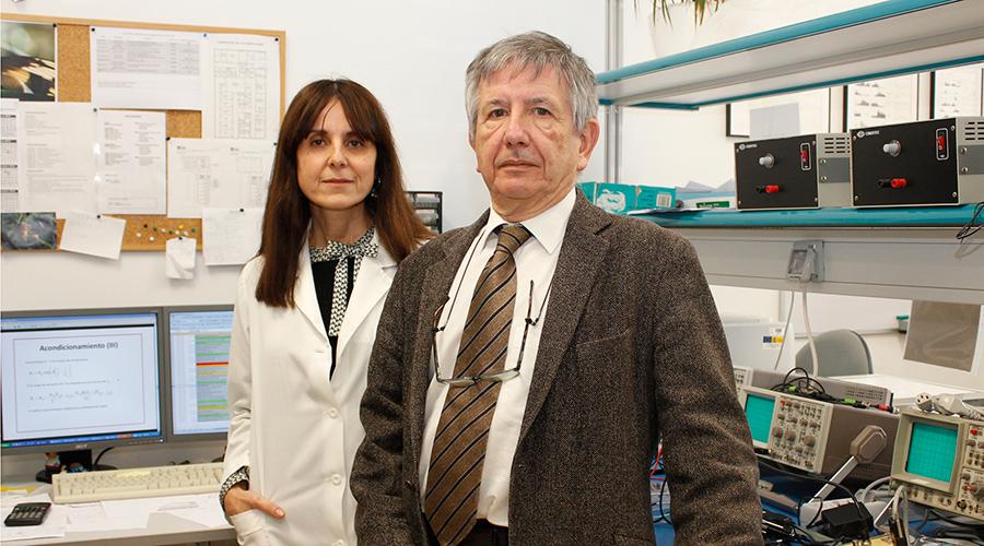 Agnès Gruart y José María Delgado. Foto: UPO.