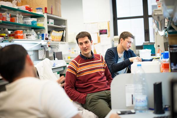 Científicos del IRB Barcelona.