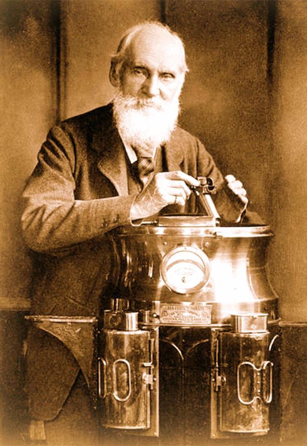 William Thomson, Lord Kelvin.