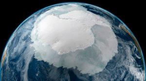Foto portada: Deshielo en la Antártida. (Foto: NASA)
