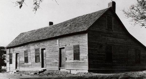 """Hollenberg, Kansas, una de las pocas estaciones del """"Pony Express"""" que han sobrevivido hasta el siglo XXI."""
