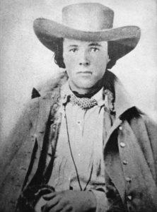 """Richard Egan, jinete del """"Pony Express"""". El sueldo de los correos como él oscilaba entre 100 y 125 dólares mensuales."""