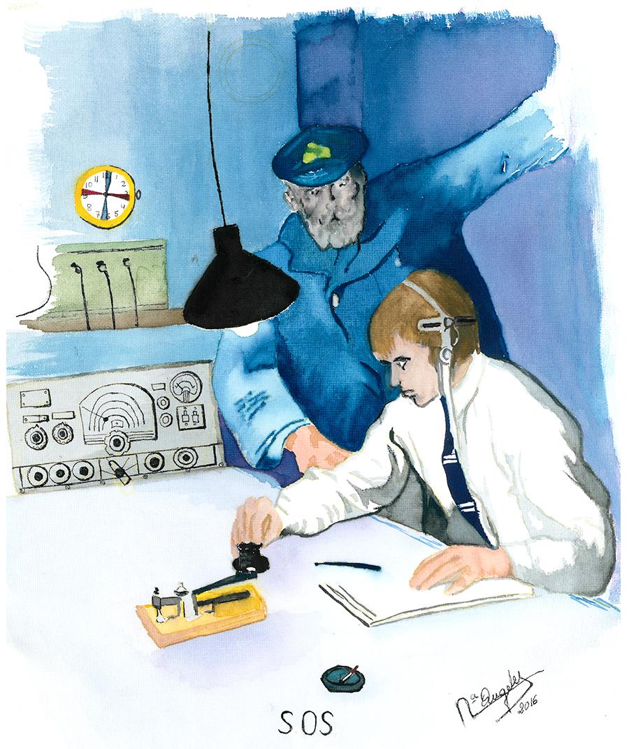 Ilustración cortesía de la autora, Mª de los Ángeles Oliva.