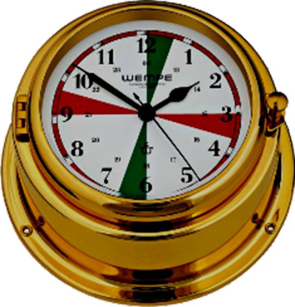 Reloj reglamentario de las estaciones de radio del Servicio Móvil Marítimo.