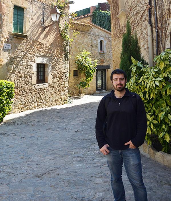 LUIS FRANCISCO RUIZ-OREJÓN, investigador del Centro de Estudios Avanzados de Blanes (CSIC) en Gerona.